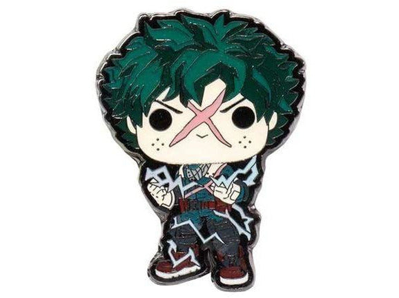 My Hero Academia Deku Full Cowl Pop! Enamel Pin (Entertainment Earth) - [barcode] - Dragons Trading