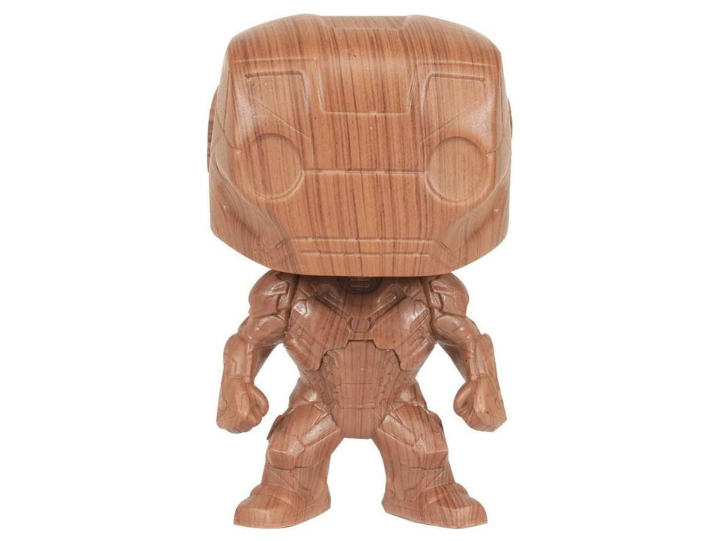 POP Comics: Iron Man: Iron Man Pop Figure (Wood) (Special Edition)