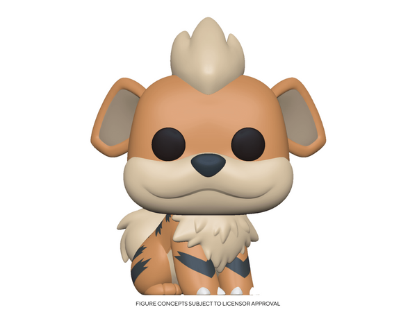 [Preorder] Pokemon: Growlithe Pop Figure - [barcode] - Dragons Trading