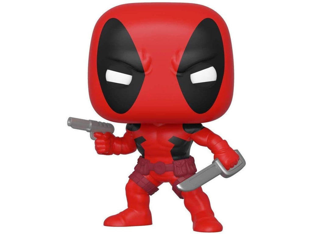 Marvel 80th Anniversary: Deadpool (First Appearance) Pop Figure - [barcode] - Dragons Trading