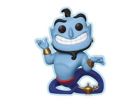 Funko Pop Disney: Aladdin - Genie with Lamp - Glow In The Dark Speciality Series Figure