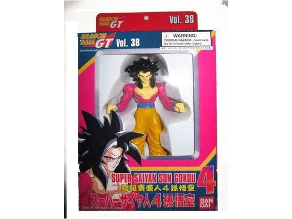 Dragonball GT Super Battle Collection Vol. 38 Super Saiyan 4 Son Gokou Goku Figure by Bandai - [barcode] - Dragons Trading