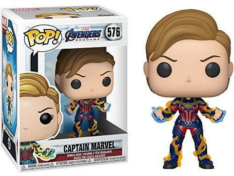 Marvel Avengers Endgame: Captain Marvel with New Hair POP