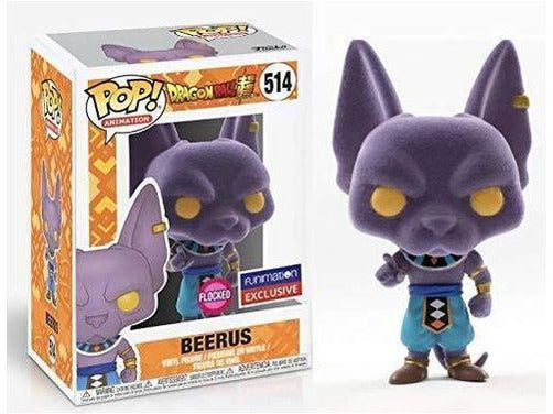 Dragon Ball Super - Flocked Beerus Pop (Funimation) - [barcode] - Dragons Trading