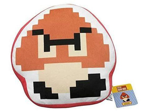 Goomba 8 Bit Pillow - [barcode] - Dragons Trading