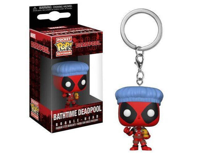 Funko Pop! Keychain: Deadpool Playtime - Deadpool Bath Time - [barcode] - Dragons Trading
