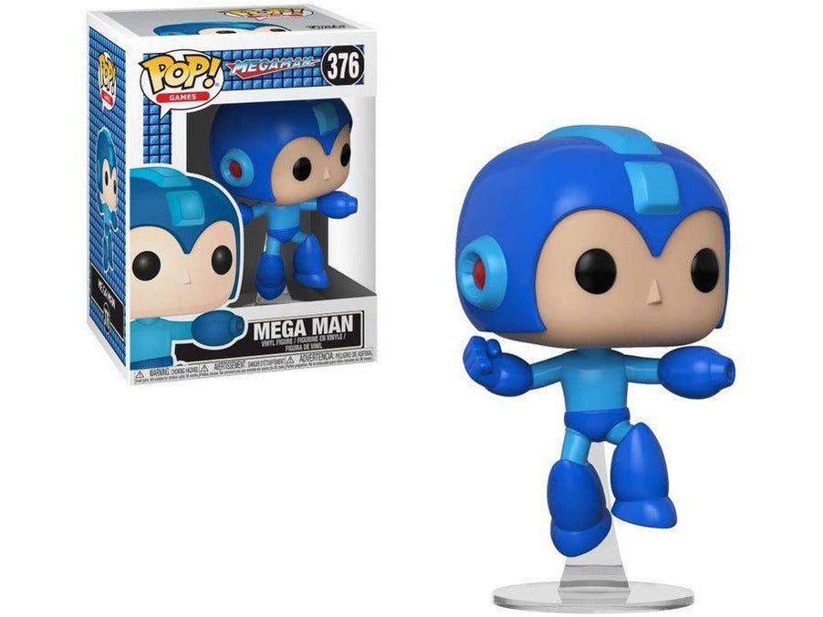 Mega Man: Mega Man (Jumping) Pop - [barcode] - Dragons Trading