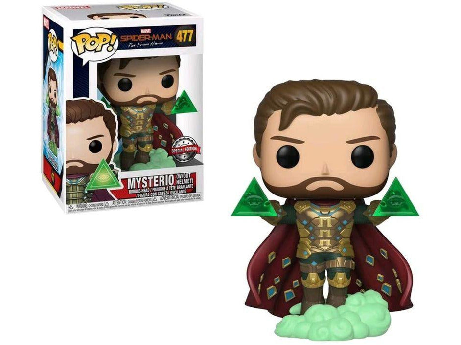 Spider-Man: Far From Home - Mysterio (Unmasked)(Special Edition) Pop