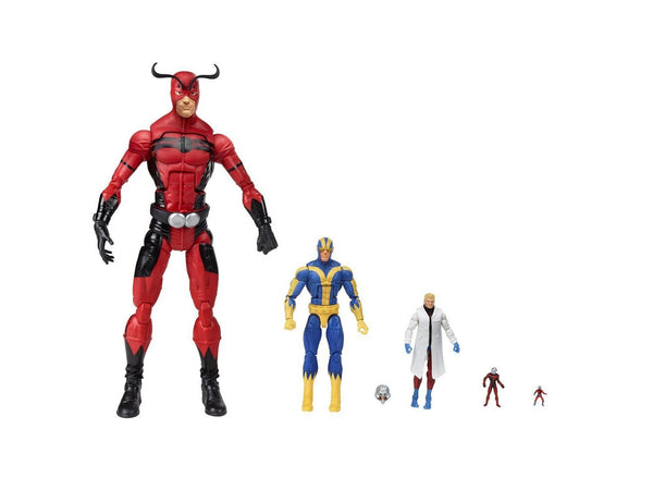 SDCC 2015 Exclusive Marvel Ant-Man Deluxe 5 Figure Set - [barcode] - Dragons Trading