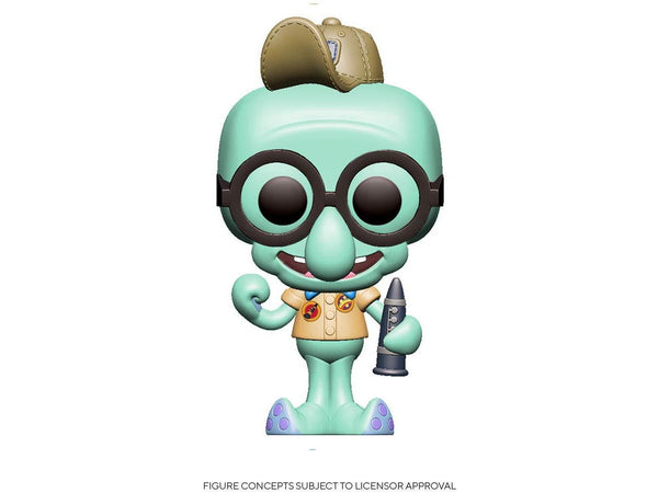 SpongeBob SquarePants: Squidward (Scout) w/ Flute Pop - [barcode] - Dragons Trading