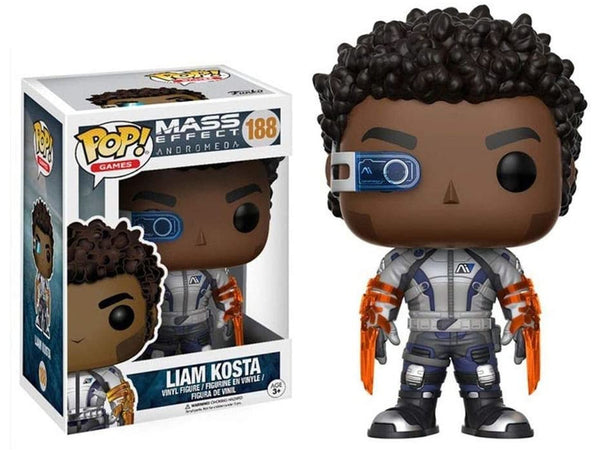 Funko POP! Games: Mass Effect Andromeda- Liam Kosta Pop - [barcode] - Dragons Trading