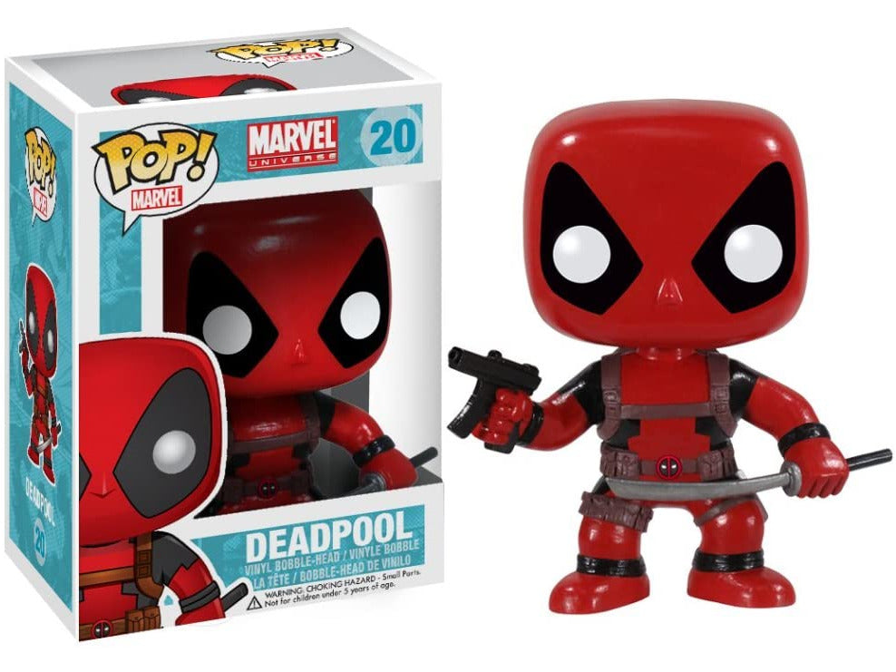 Funko POP! Marvel: Deadpool Bobble Head Pop - [barcode] - Dragons Trading