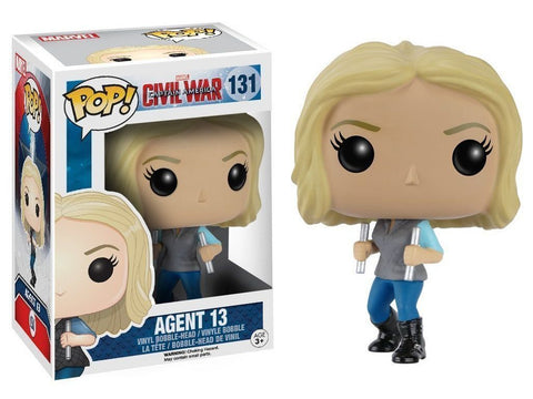 Marvel: Civil War Agent 13 Vinyl Figure