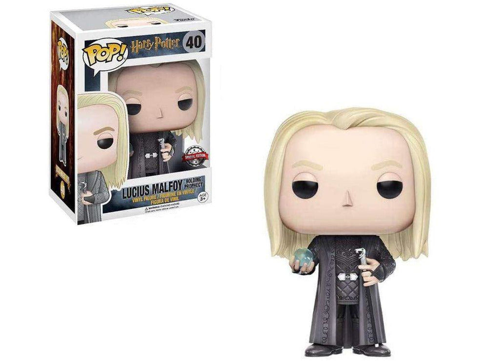 Harry Potter: Lucius w/ Prophecy Pop Figure (Special Edition)