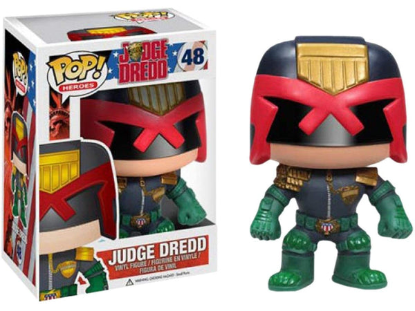Funko POP! Heroes: Judge Dredd - [barcode] - Dragons Trading
