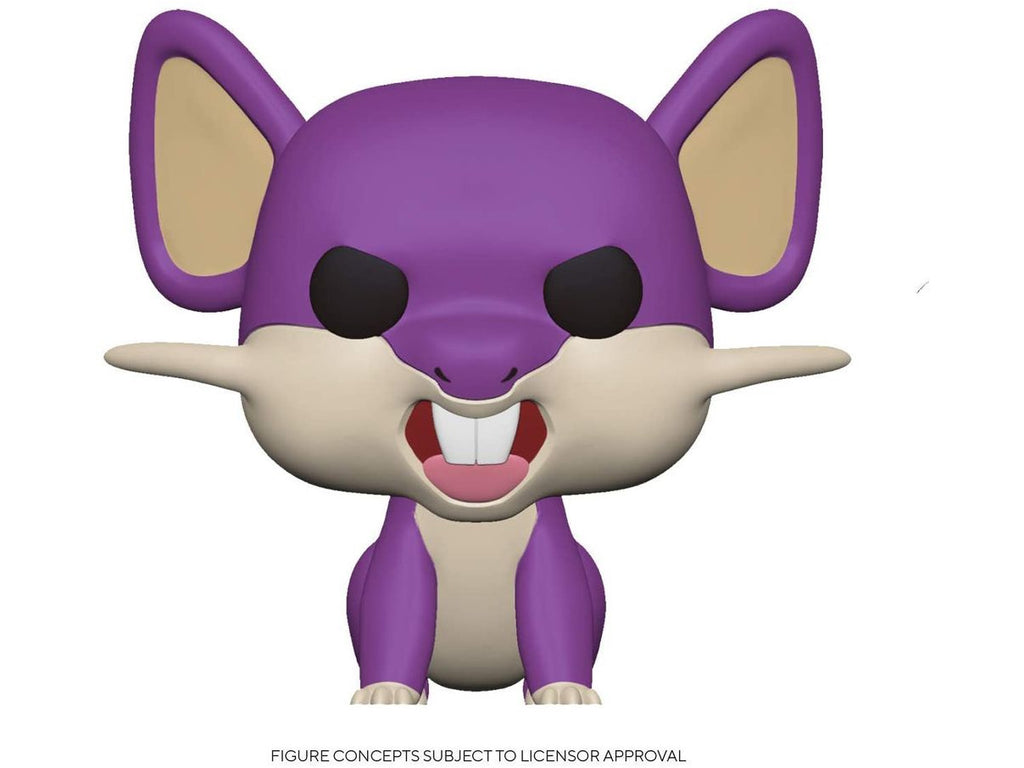 [Preorder] Pokemon: Rattata Pop Figure - [barcode] - Dragons Trading
