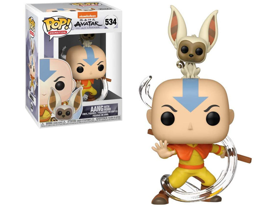 Avatar: The Last Airbender - Aang With Momo Pop
