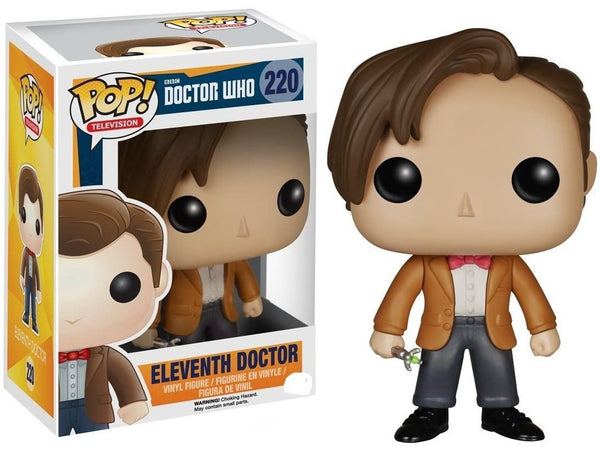 Funko POP! Television: Doctor Who - Eleventh Doctor Pop (Vaulted) - [barcode] - Dragons Trading