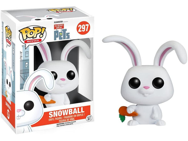 Funko POP! Movies: The Secret Life of Pets: Snowball Pop - [barcode] - Dragons Trading