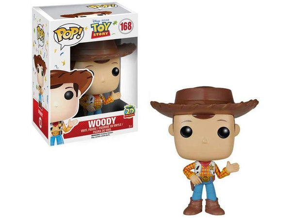 Funko POP! Disney: Toy Story - Woody Pop - [barcode] - Dragons Trading
