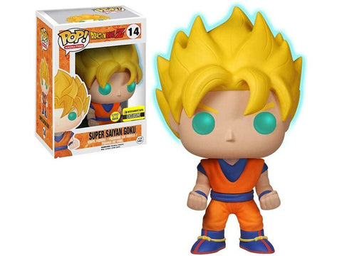 Entertainment Earth Exclusive Dragon Ball Z - Super Saiyan Goku GITD