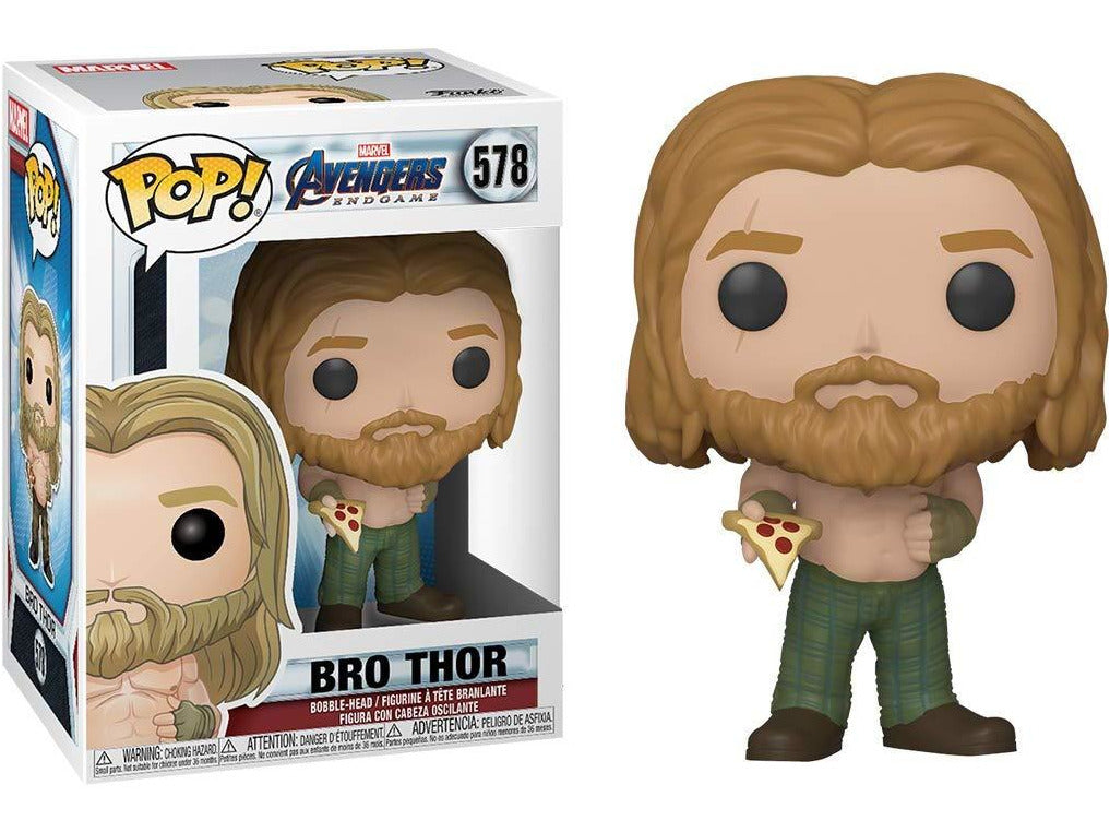 Avengers Endgame: Thor w/ Pizza Pop Figure - [barcode] - Dragons Trading