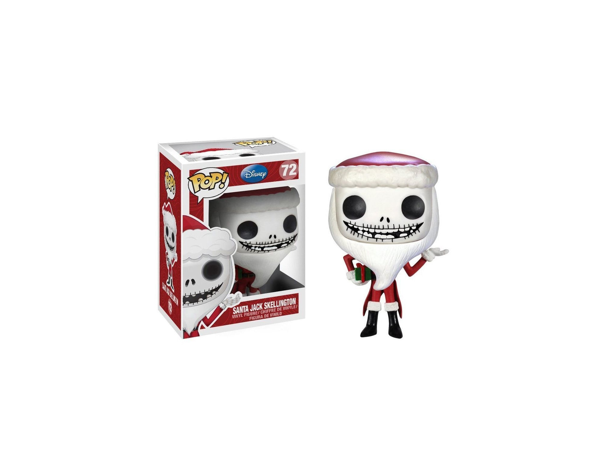Funko POP Disney - Santa Jack Skellington Vinyl Figure-