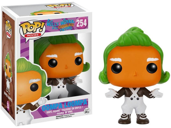 Funko Pop Movies: Willy Wonka - Oompa Loompa (Vaulted) - [barcode] - Dragons Trading