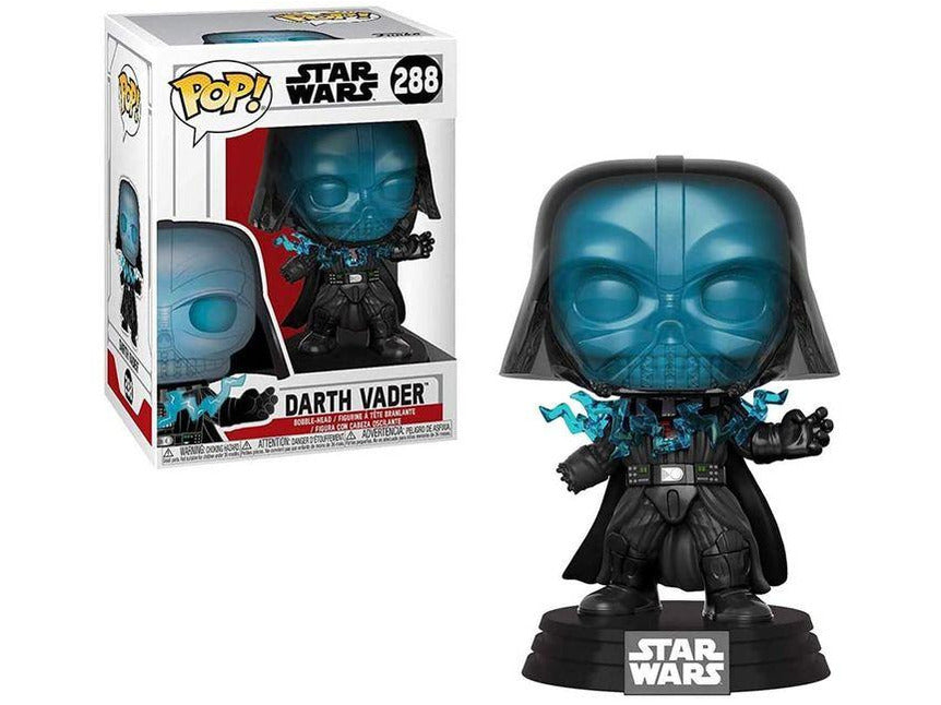 Funko POP! Movies: Star Wars - Darth Vader (Electrocuted) Pop - [barcode] - Dragons Trading