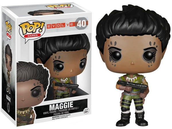 Funko POP! Games: Evolve- Maggie Pop - [barcode] - Dragons Trading
