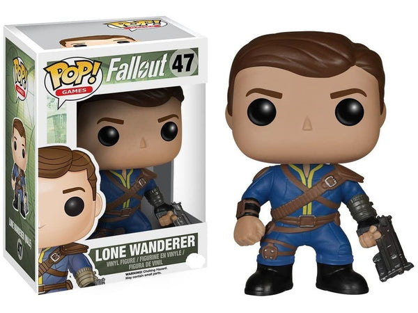 Funko POP! Games: Fallout- Lone Wanderer Male Pop - [barcode] - Dragons Trading