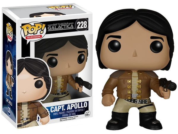 Funko Pop Tv: Battlestar Galactica Classic-Apollo Action Figure - [barcode] - Dragons Trading
