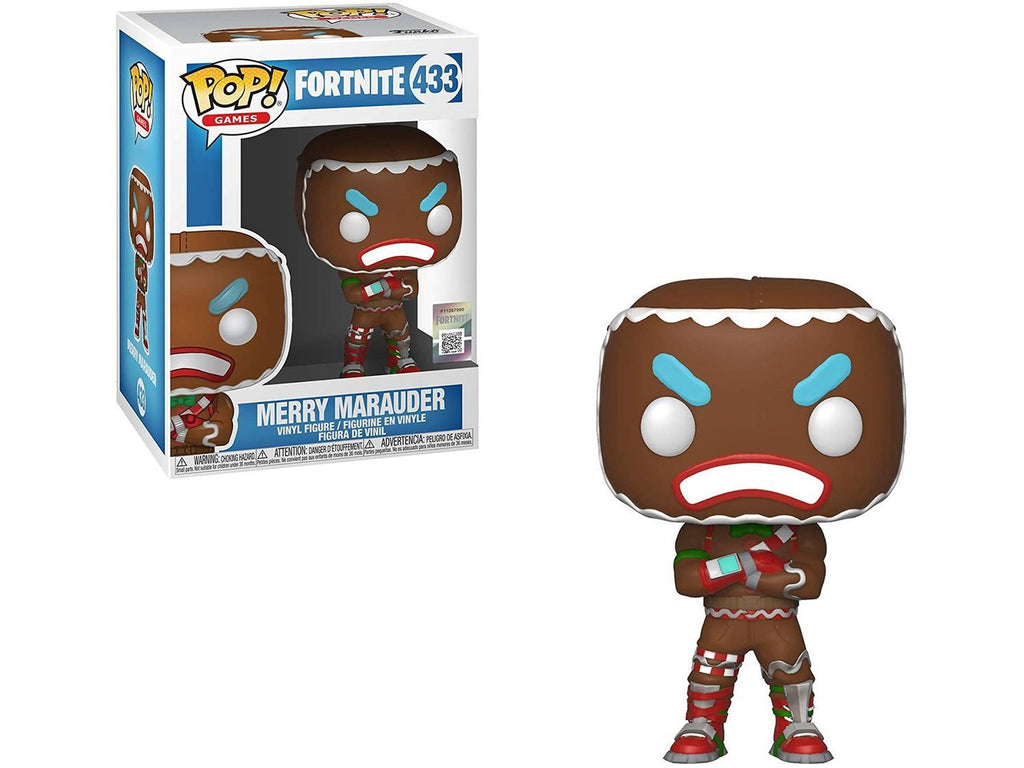 Funko POP! Games: Fortnite- Merry Marauder Pop - [barcode] - Dragons Trading