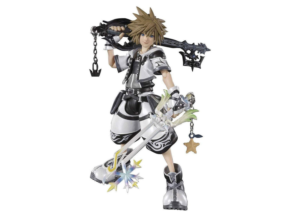 Kingdom Hearts II: Sora (Final Form) S.H.Figuarts Action Figure (Figures) - [barcode] - Dragons Trading