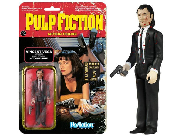 Pulp Fiction - ReAction Figure: Blood Splattered Vincent Vega - [barcode] - Dragons Trading