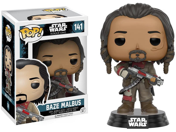 Funko POP! Movies: Star Wars: Rogue One - Baze Malbus Pop - [barcode] - Dragons Trading