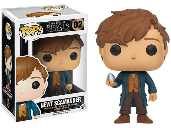 Funko POP! Movie: Fantastic Beasts - Newt Scamander w/ Egg Pop - [barcode] - Dragons Trading