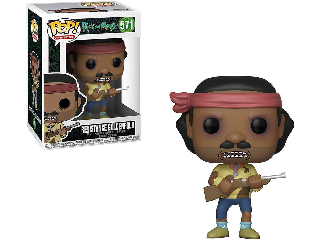 Rick & Morty - Goldenfold (Resistance) Pop - [barcode] - Dragons Trading