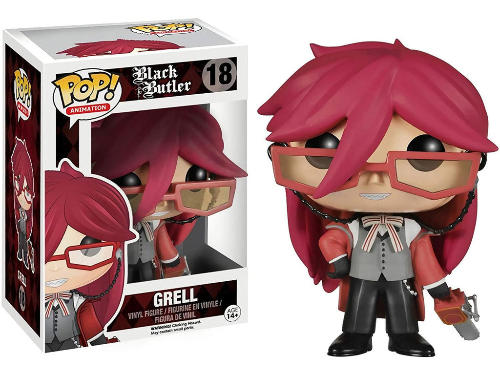 Funko POP! Animation: Black Butler- Grell Pop - [barcode] - Dragons Trading