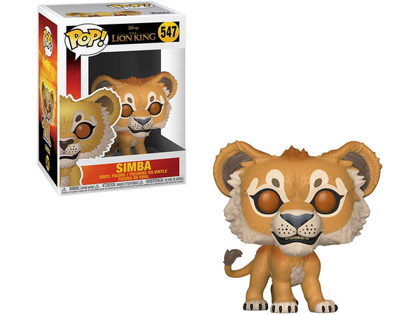 Funko POP! Disney: Lion King (Live Action) - Simba Pop - [barcode] - Dragons Trading