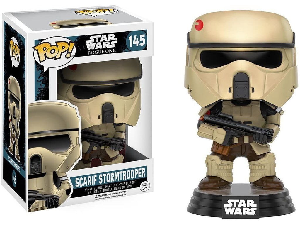 Funko POP! Movies: Star Wars: Rogue One - Scarif Stormtrooper - [barcode] - Dragons Trading