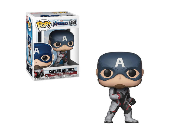 Funko Pop! Marvel: Avengers Endgame - Captain America - [barcode] - Dragons Trading