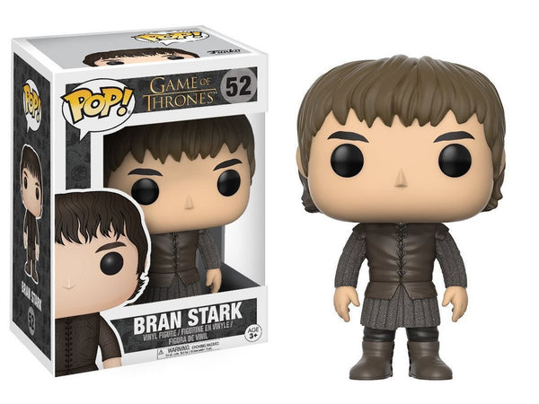 Funko Pop Game of Thrones: GOT - Bran Toy Figure - [barcode] - Dragons Trading