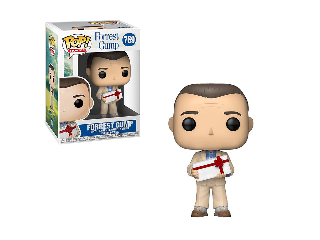 Funko POP! Movie: Forrest Gump - Forrest Gump w/ Chocolates Pop - [barcode] - Dragons Trading