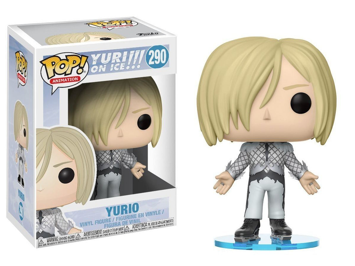 Funko Pop Anime: Yuri on Ice Yurio (Skate-Wear) Collectible Vinyl Figure