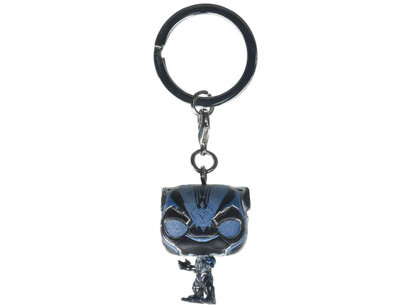Funko Pop Keychain: Black Panther Erik Killmonger Collectible Figure - [barcode] - Dragons Trading