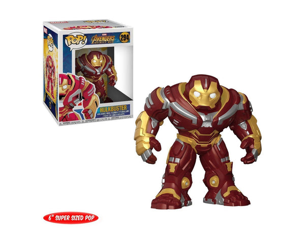 "Funko Pop Marvel: Avengers Infinity War-Hulkbuster 6"" Collectible Figure - Dragons Trading"