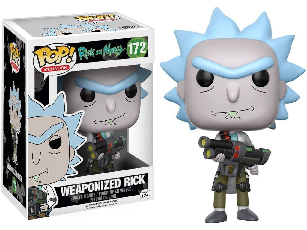 Rick & Morty - Weaponized Rick Pop - [barcode] - Dragons Trading