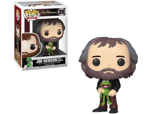 Funko POP! Icons: Henson - Jim Henson with Kermit Pop - [barcode] - Dragons Trading
