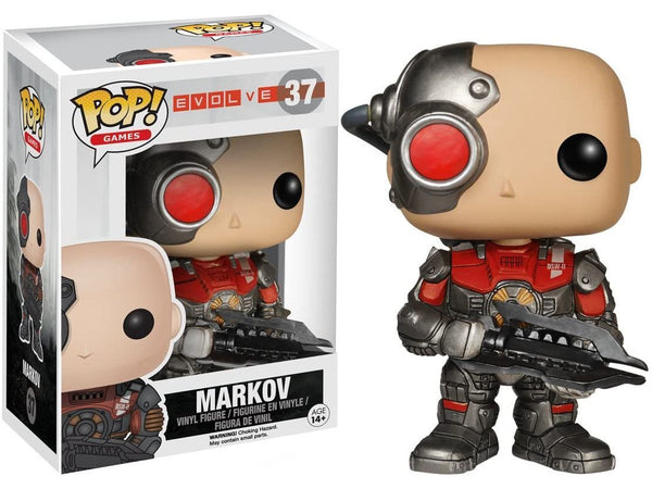 Funko POP! Games: Evolve- Markov Pop - [barcode] - Dragons Trading